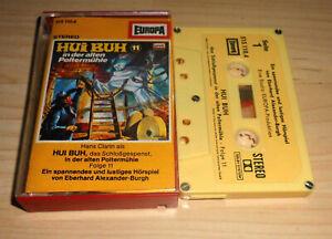 Hoerspiel-Kassette-Hui-Buh-Folge-11-In-der-alten-Poltermuehle