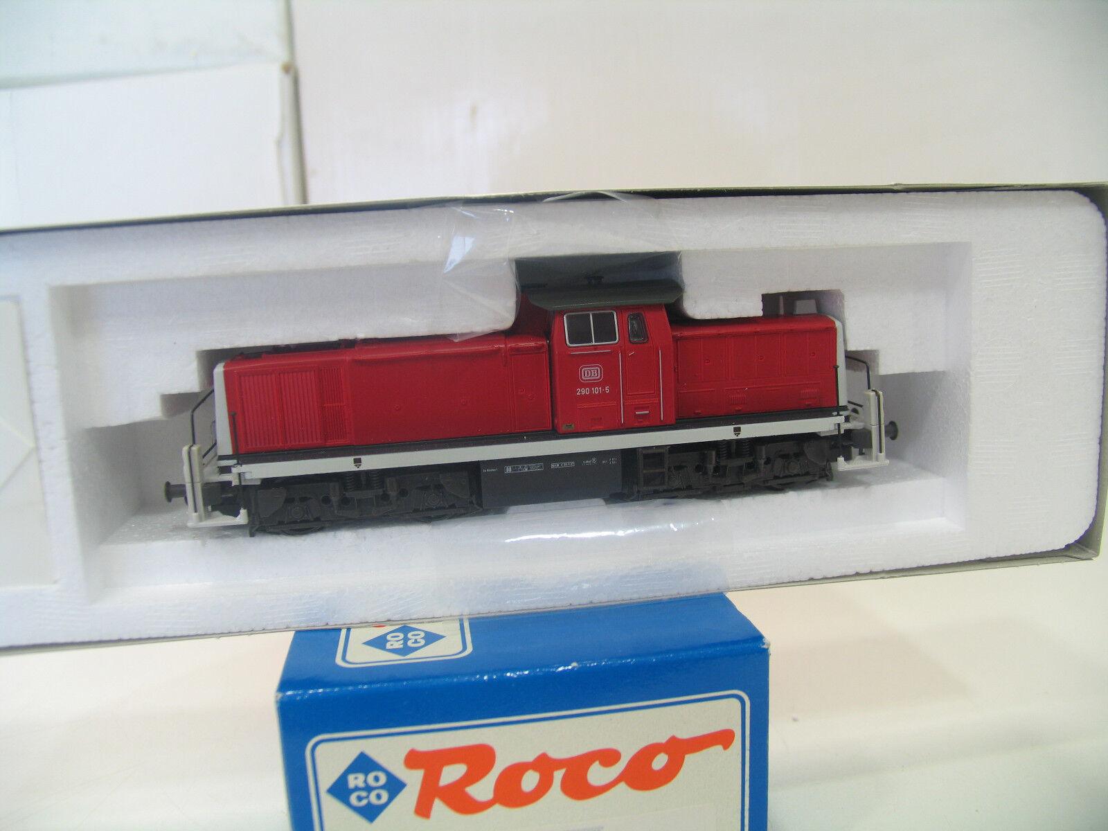 Roco 63425 diesellok br 294 nuevo-rojo de la DB a156