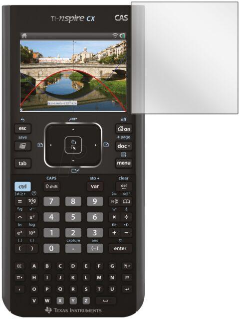 TI Nspire CX Taschenrechner Grafikrechner Schutztasche//-Folie Lern-CD Garantie