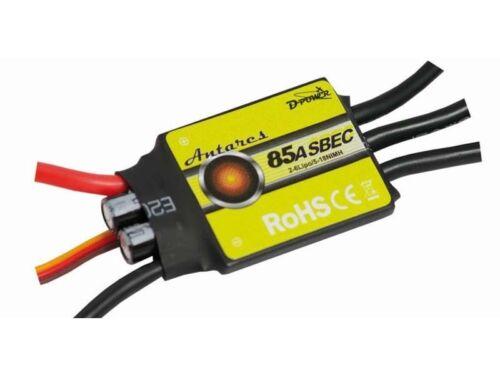D-power Antares 85a s-BEC BRUSHLESS régulateur 9086