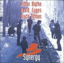 """Arthur Blythe/David Eyges/Bruce Ditmas, """"Synergy""""  (CD, 1997)"""