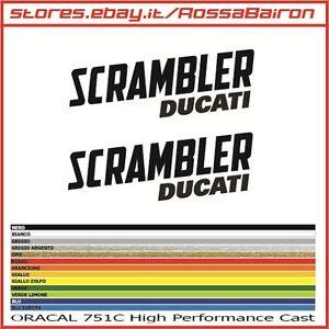 Details About Kit 2 Stickers Ducati Scrambler Mm100x36 Stickers Aufkleber Pegatinas Decals Show Original Title