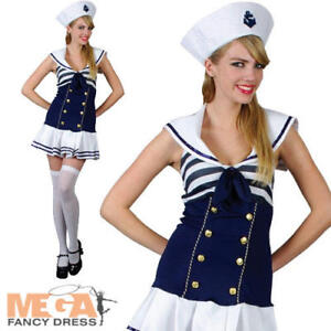 Sailor-Girl-Ladies-Fancy-Dress-Womens-Navy-Uniform-Costume-Adults-Outfit-UK-6-24