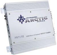 Pyramid 2 Channel 1000 Watt Car Audio Amplifier Power Amp Class Ab | Pb717x on sale
