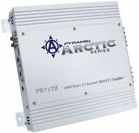Pyramid 2 Channel 1000 Watt Car Audio Amplifier Power Amp Class Ab   Pb717x on sale