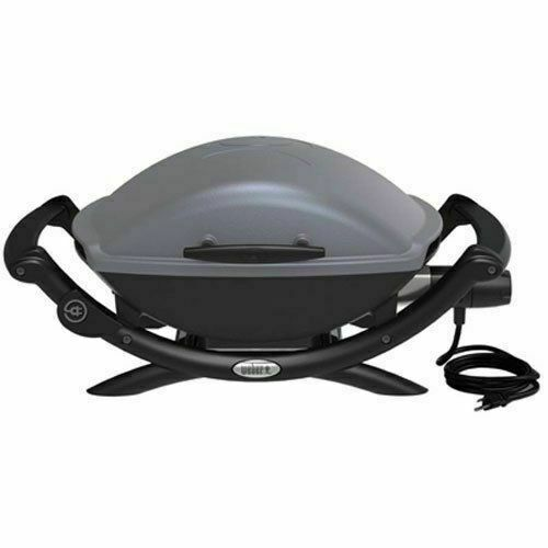 q2400 gray electric grill 55020001 1 each