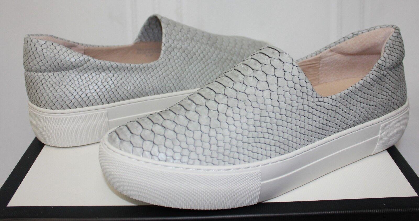 Jslides J J J diapositivas Ariana Luz gris Serpiente en Relieve Nuevas Zapatillas Zapatos Slip On  Nuevos productos de artículos novedosos.