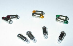klar Ersatzlampen Micro-Lämpchen 2,8x4mm 10 Stück  *NEU*