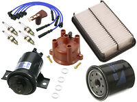 Toyota Pickup 1985 2.4 L4 Ignition Tune Up Kit Cap And Rotor + Filters on sale