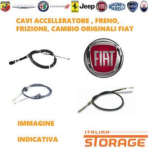 Fiat-Bravo-Lancia-Delta-Kabel-Flexibel-Austausch-Bowdenzug-Neu-Original-55228584