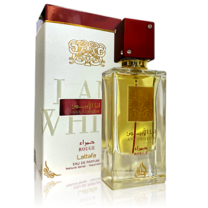 Ana Abiyedh Rouge 60ml By Lattafa Spicy Fruity Vetiver Ambergris Eau De Parfum