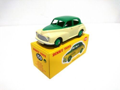 Morris Oxford Saloon Green Yellow DINKY TOYS 1:43 MIB DIECAST MODEL 159