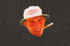 Hunter S. Thompson Fear and Loathing in Las Vegas Gonzo Depp Festival Hat Pin