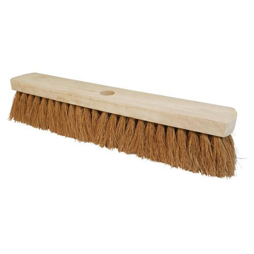 35 Inch Soft Coco Bristle Replacement Broom Head 914mm Sweeping