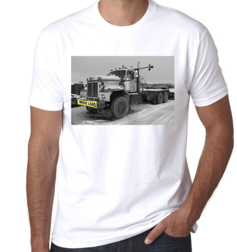 American Truck Lorry Wide Load Kenworth 1978 849 tractor mens T shirt
