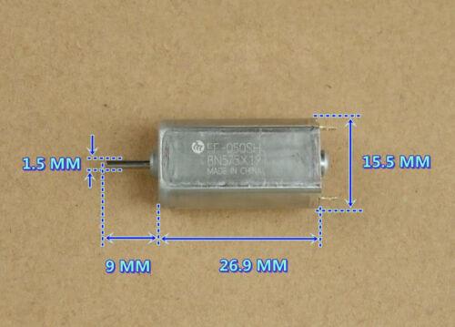 2pc For MABUCHI FF-050SH DC5-6V 17200RPM Large Torque Precious Metal Brush Motor