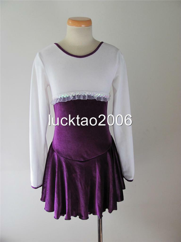 2018 new style Figure Skating Dress Ice Skating competition Dress 008-5 size 12