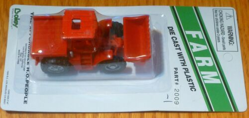 Red Boley #20091 Tractor 4x4 w//End Loader 1:87 Scale