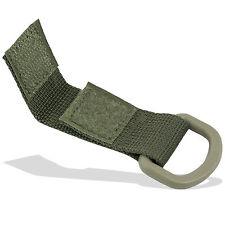 Bulldog MOLLE Webbing Keyring Belt Mounting Gear D-Ring Clip Link Loop Green