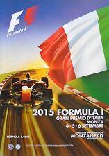 F1 Monza Italian Grand Prix Hamilton 2015 Original Poster 98cm x 68cm