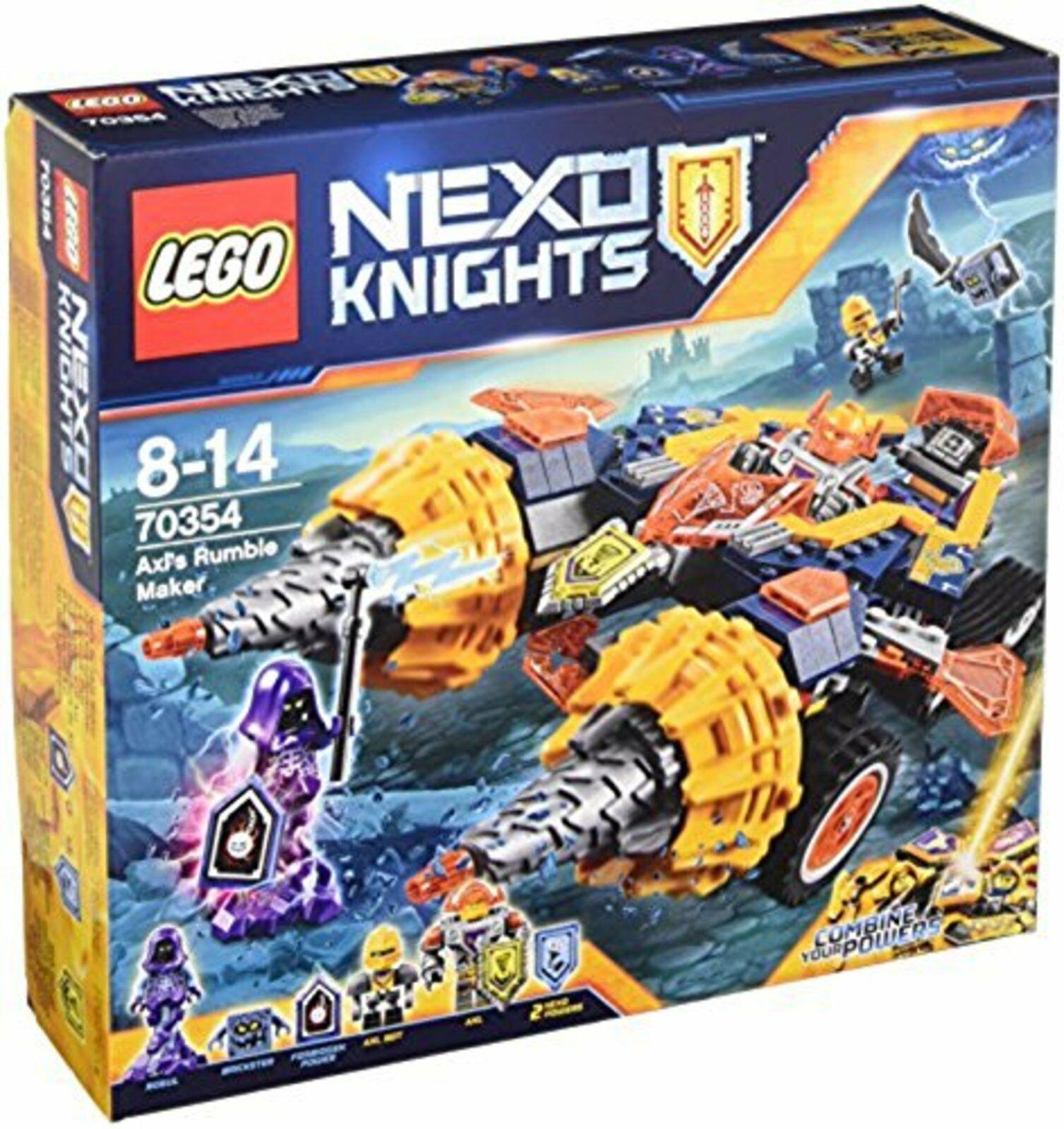 Lego NEX Axel Rumble  Maker 70354 Livraison Gratuite avec numéro de suivi nouvelles du Japon  cherche agent commercial