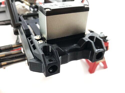 Servo Austausch Frontstoßstange Mount V2 für Axial SCX10 II AX90046//AX90047