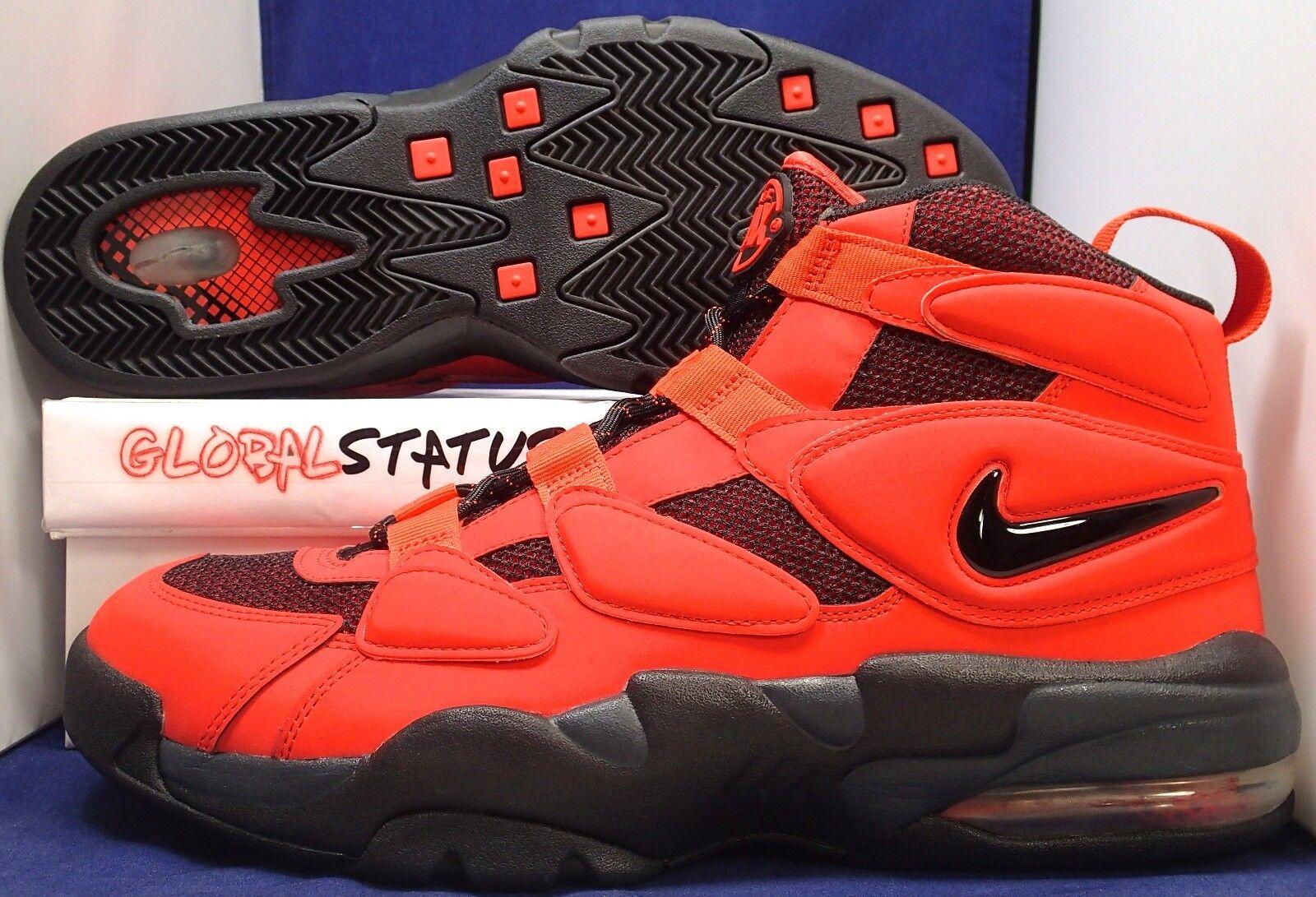 2011 - nike air max ritmo 2 - oh max orange retrò piu 'scarpe 502962 800 il numero 15