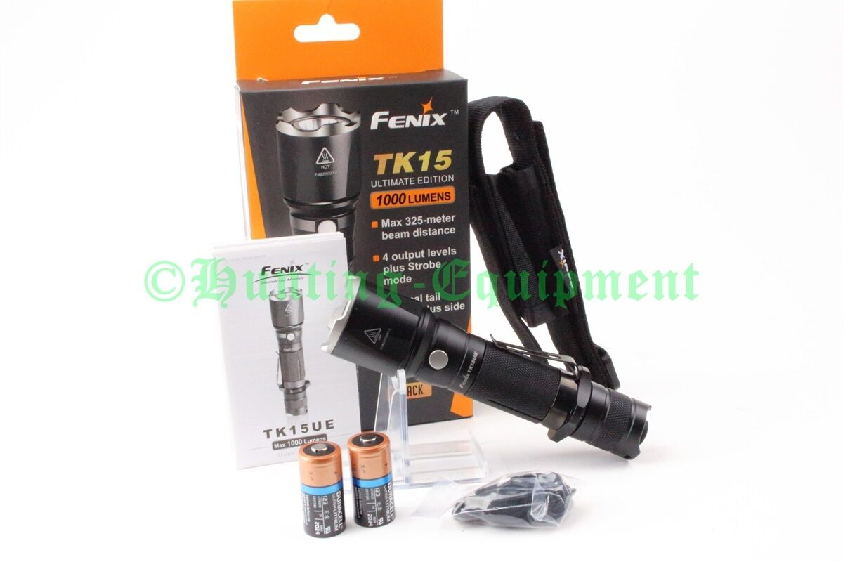 Fenix TK15UE Ultimate Edition 1000 Lumen Cree XP-L LED HI V3 LED XP-L Taschenlampe NEU 98c754