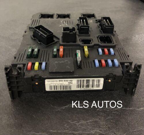 boitier bsi E02 MG 9657999780 S118085220F PEUGEOT 206 VIERGE