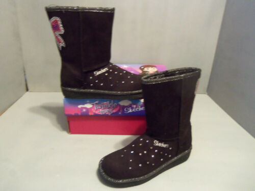Girls Youth Skecher Twinkle Toes GLAMSLAM GLAM SLAM BOOTS NIB Colors Bow Dazzle