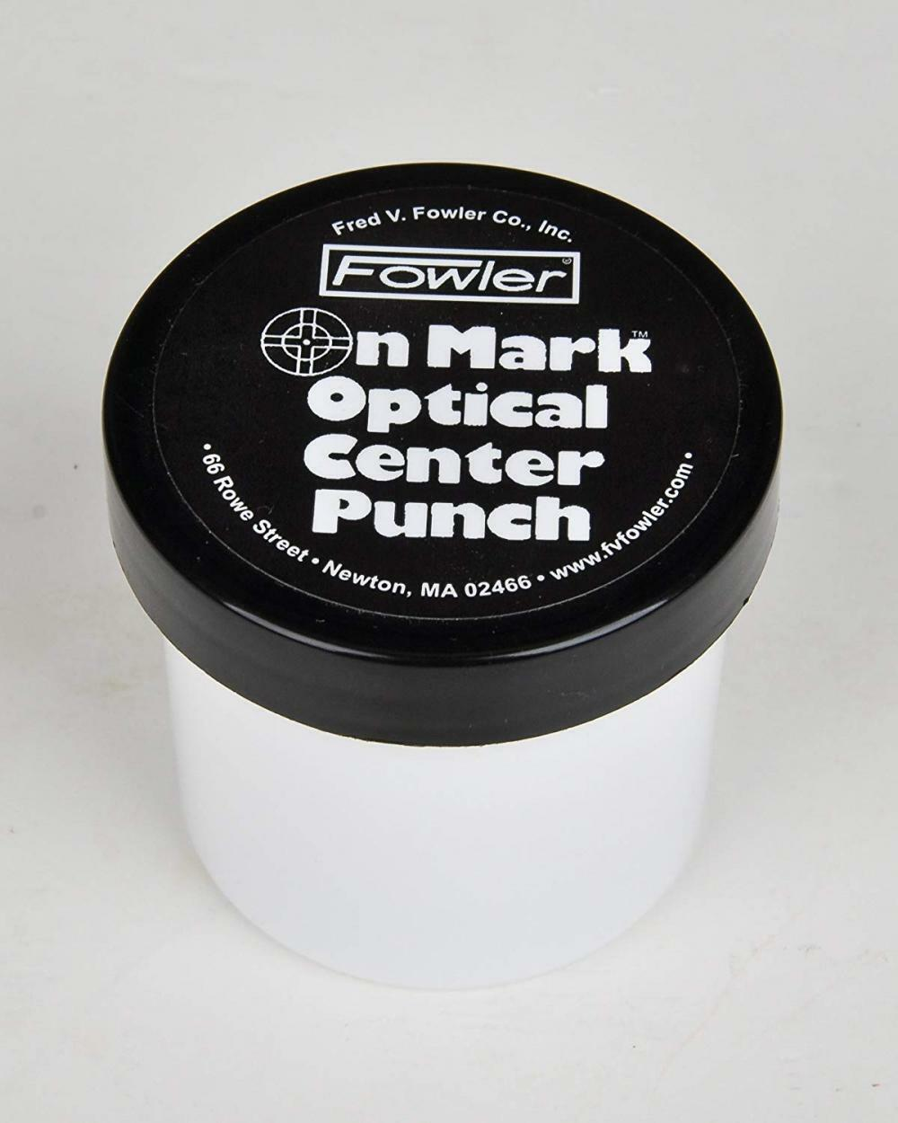 """Fowler 52-500-012 Steel Optical Center Punch 3X Magnification 4/"""" Length"""