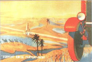 CARTOLINA-ILLUSTRATA-LITORANEA-LIBICA-CON-ARCO-FILENI-FERVENT-ROTAE-1934