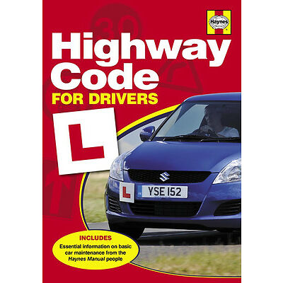 HAYNES MANUALS HIGHWAY CODE FOR DRIVERS MANUAL LEARNERS LEARNER DRIVER