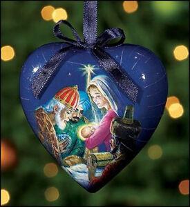 Set-of-6-Heart-Shaped-Three-Kings-Mary-Jesus-Christmas-Ornament-Home-Decoration