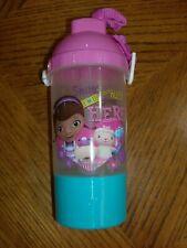 Disney Doc McStuffins Drinking Bottle Tumbler Flex Straw  Kids Dinner