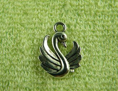 50pcs Tibetan Silver 2Sides Elephant Charms Jewelry DIY 14x12x3mm zn47017