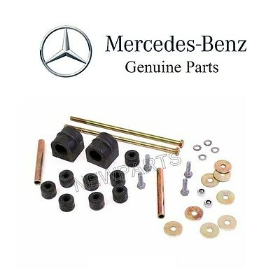 Genuine Mercedes R107 560SL Sway Bar Bushing Kit Front Stabilizer 1073200047