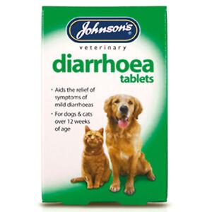 HonnêTe Johnson's Veterinary Diarrhée Comprimés - 12 Comprimés-jve0005-afficher Le Titre D'origine