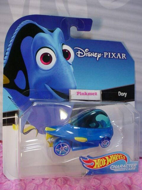 Dory ✰ Azul ✰ Disney Pixar Finding Nemo  2019 Hot Wheels Personaje Coches