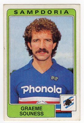 figurina CALCIATORI PANINI 1984//85 NEW numero 237 SAMPDORIA SOUNESS