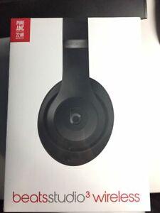 Beats By Dr Dre Studio3 Wireless Headphones Matte Black Ebay