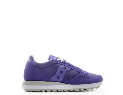 S1044 Trendy Chaussures Sneakers Woman 392 tissu Suede Saucony Purple tqqg0