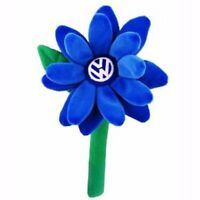 Daisy Flower For Vw Beetle Blue Logo Fits Vase Original Vw Part