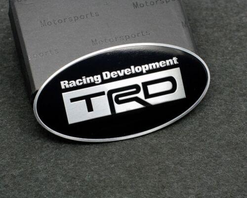 BLACK 3D Aluminum T RACING DEVELOPMENT Metal Car Rear Badge Emblem Sticker