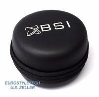 Black Leather Carrying Case For Motorola Moto 360 Moto360 Smartwatch Smart Watch