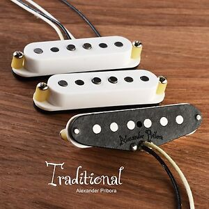 Handwound-Pickups-fit-Fender-Stratocaster-Traditional-with-Alnico5-magnets