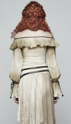 Vintage Steampunk Lolita Flying Camicetta Punkrave Gothic Top E Gothic OwIvqxEET