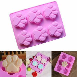 7-3-034-5-5-034-1-2-034-Silicone-Bear-Cat-Claw-Mold-Candy-Chocolate-Cookie-Cupcake-New