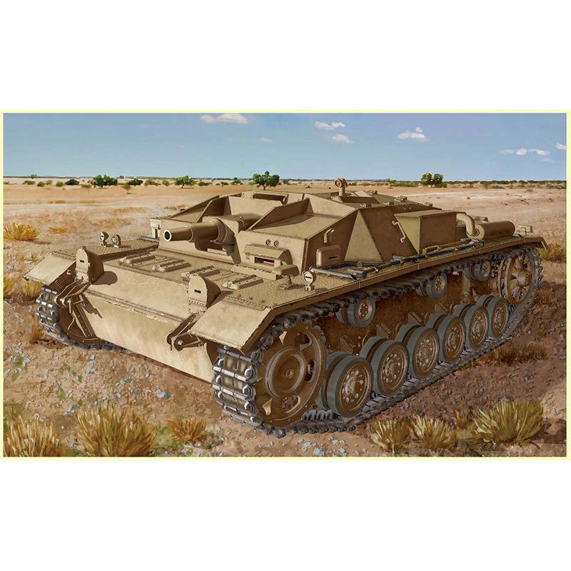 DRAGON 6905 Stug III Ausf D with Tropical Air Filter 1 35 Military Model Kit