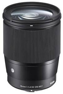 Sigma-16-mm-1-4-DC-DN-C-Contemporary-NEU-HANDLER-SOFORT-MFT-Panasonic